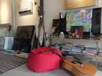 Aryens Atelier: Kreatives Durcheinander