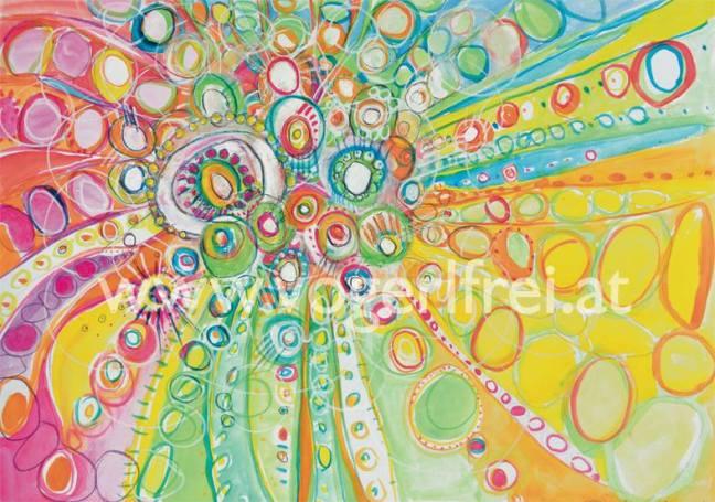 Bild: Regina Pillgrab (ca. 30 x 40 cm, Technik: Gouache mit Aquarellkreiden und -stiften, teilweise Pastellkreide).